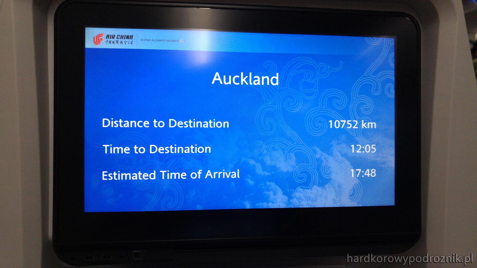 Lot Nowa Zelandia