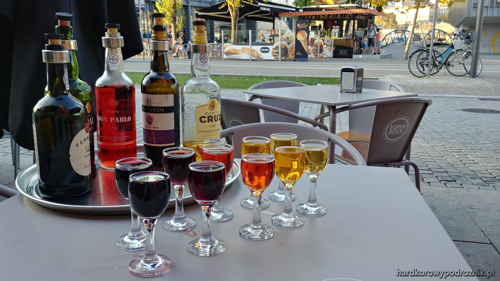 Wino w Porto